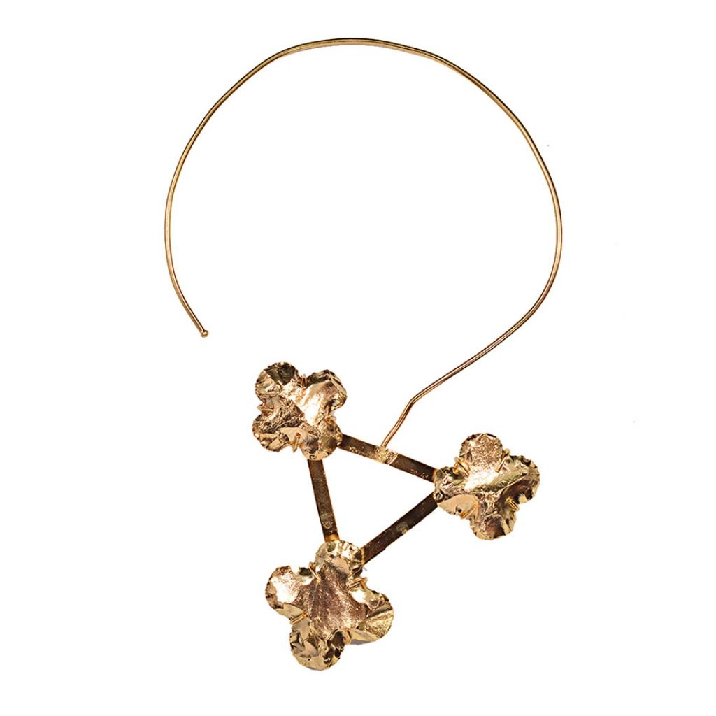 Golden Gardenia Necklace