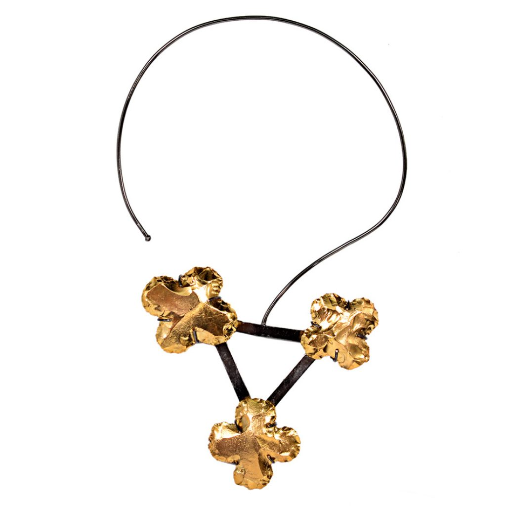 Oxgold Gardenia Necklace